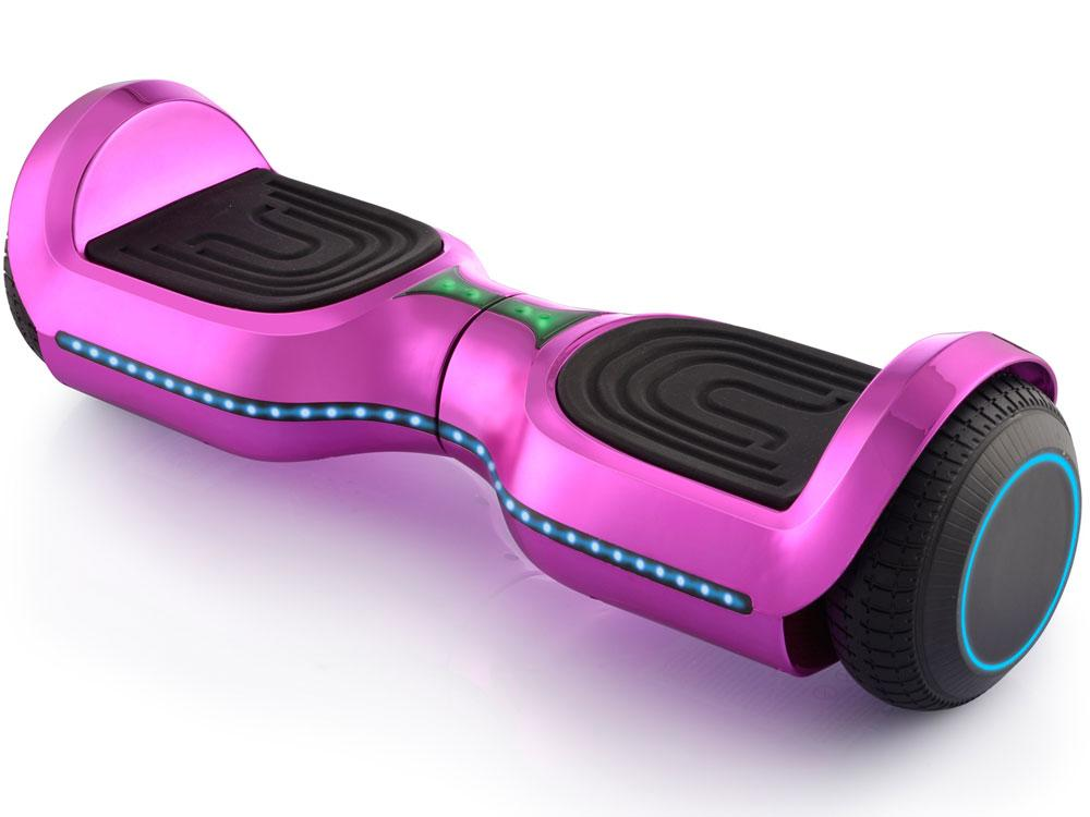 MotoTec Kid's Ride-On Hoverboard 24v 6.5in Wheel L17 Pro Pink Hoverboard MotoTec