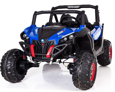 New 12v Electric Kids Ride-on Buggy UTV | Blue Quad Bikes Mini Motos