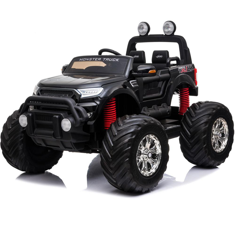 NEW 4x4 12V KID'S RIDE-ON MONSTER TRUCK WITH REMOTE CONTROL IN BLACK