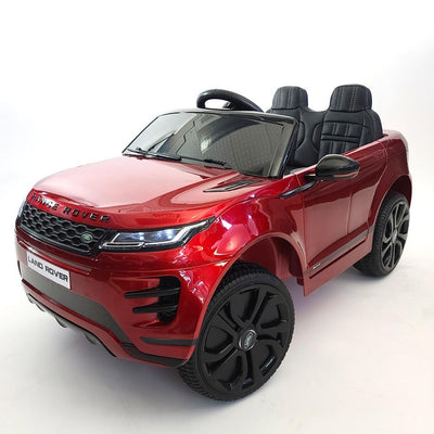 RANGE ROVER EVOQUE 12V LICENSED RIDE-ON KIDS CAR SUV WITH LEATHER SEATS AND RUBBER WHEELS- FREE SHIPPING