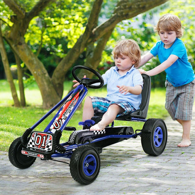 4 Wheels Kart Kids Ride on Pedal Bike