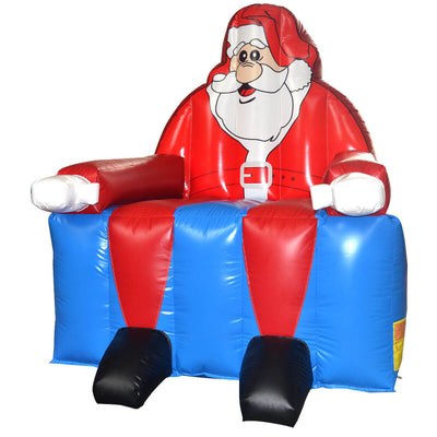 Inflatable Santa Claus Bounce House Christmas Jumper - FREE SHIPPING