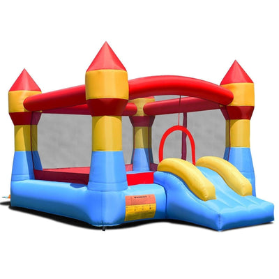 Inflatable Bounce House Castle Jumper Without Blower