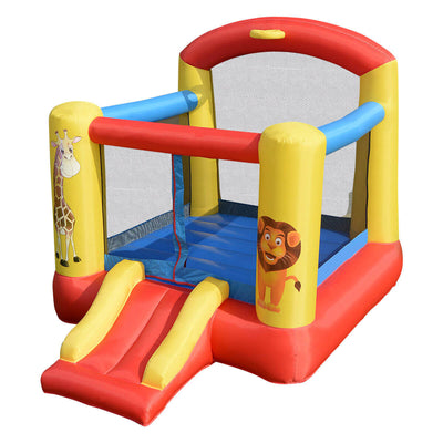 Inflatable Jumping Bounce House with Animal Patterns (Blower not included) - FREE SHIPPING