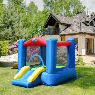 Kids Inflatable Jumping Castle Air Blower Outdoor Bouncer - FREE SHIPPING