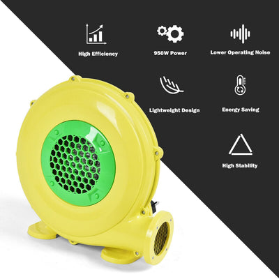 480 W 0.64 HP Air Blower Pump Fan for Inflatable Bounce House - FREE SHIPPING