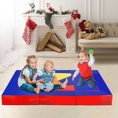 4-in-1 Crawl Climb Foam Shapes Toddler Kids Playset