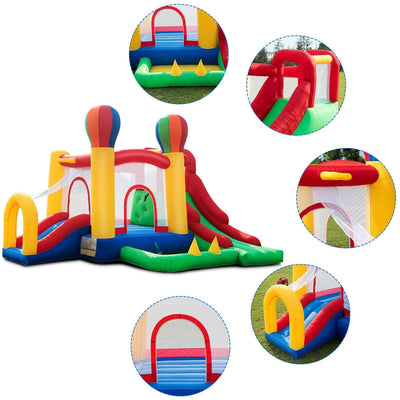 Inflatable Moonwalk Jumper Bounce House with Carrying Bag