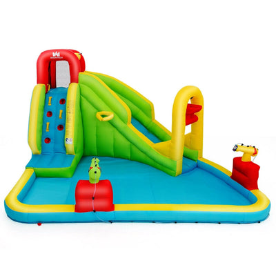 Inflatable Splash Water Bounce House Jump Slide Bouncer (Blower Not Included) - FREE SHIPPING