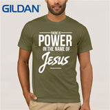 """Power in the name of Jesus Christ"" T-Shirt"