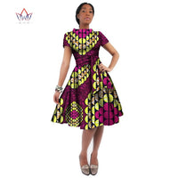 African Style Wax Print Dress