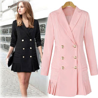 Double Breasted & Pleated Dress Suit