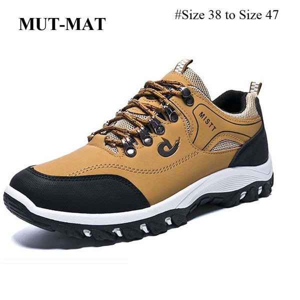 Men's Non-slip Hiking Sneakers