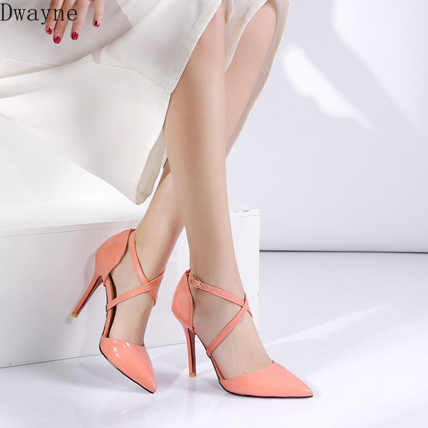 Thin High Heels Party Pumps
