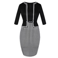 Formal suit bodycon pencil dress