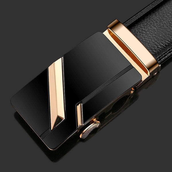 Faux Leather Luxury Men's Belt