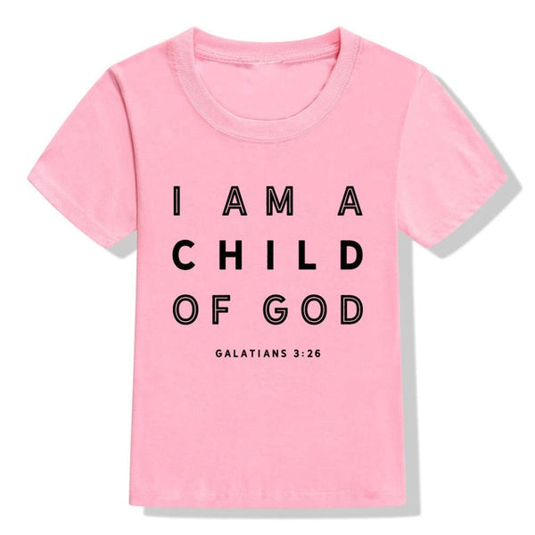 """I Am A Child of God"" Kids T-Shirt"
