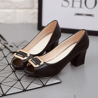 Women's Thin Heel Pointed Toe Pumps