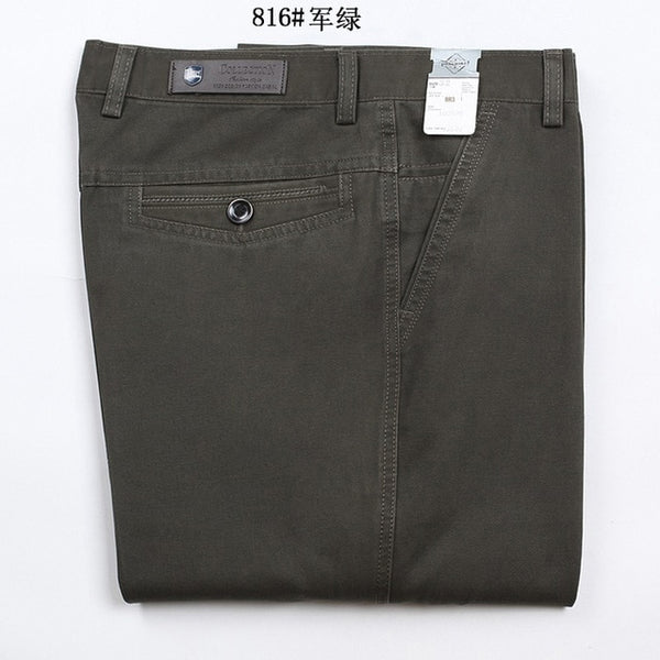 Casual loose straight pants for men