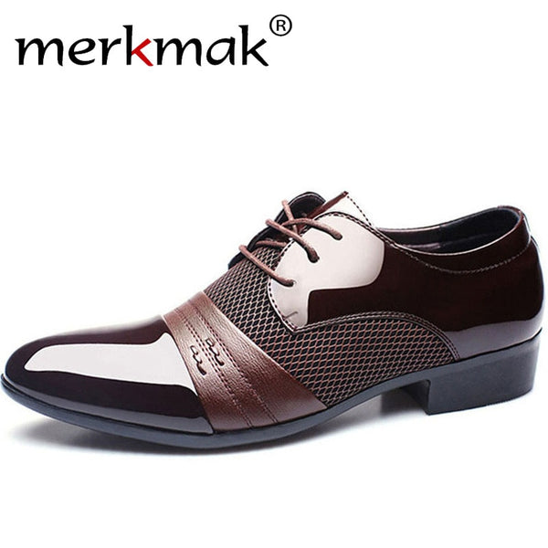 Men's Business Flat Shoes