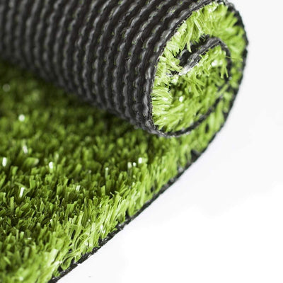 SunVilla Artificial Grass,Artificial Rug/Mat, Realistic Indoor/Outdoor Rubber Back Turf for Garden, Patio, Fence, Garden, Wall Decoration (7FTx7-82FT)