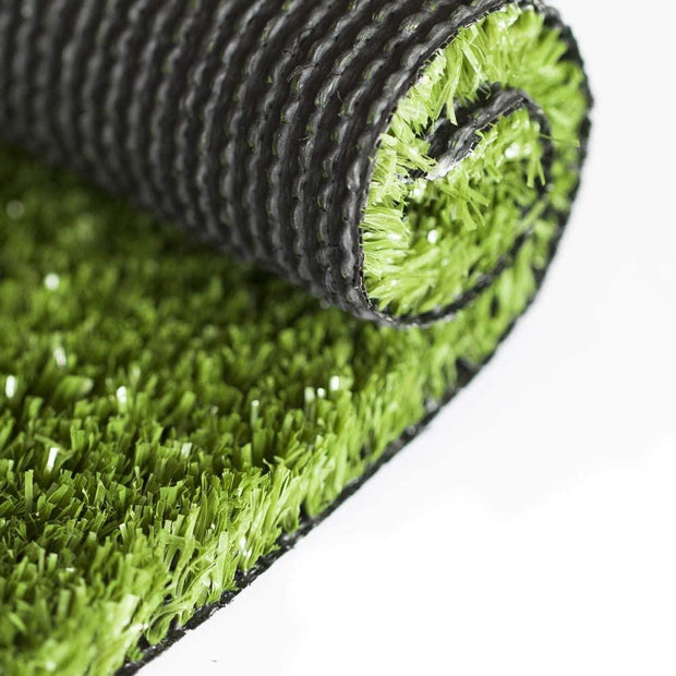 SunVilla Artificial Grass,Artificial Rug/Mat, Realistic Indoor/Outdoor Rubber Back Turf for Garden, Patio, Fence, Garden, Wall Decoration (9FTx9-82FT)
