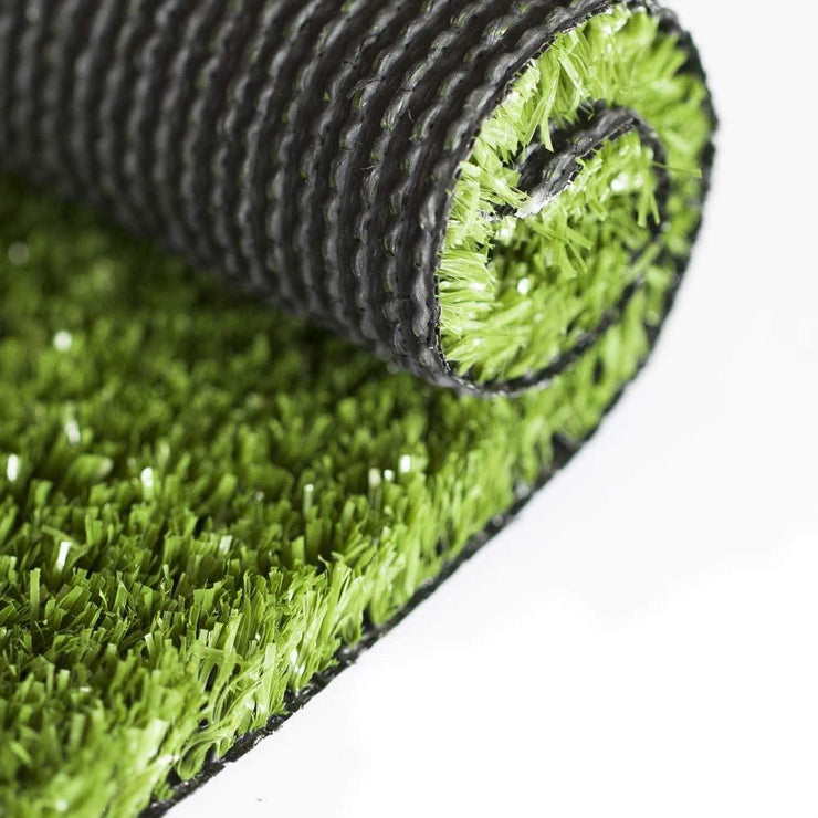 SunVilla Artificial Grass,Artificial Rug/Mat, Realistic Indoor/Outdoor Rubber Back Turf for Garden, Patio, Fence, Garden, Wall Decoration (12FTx12-82FT)