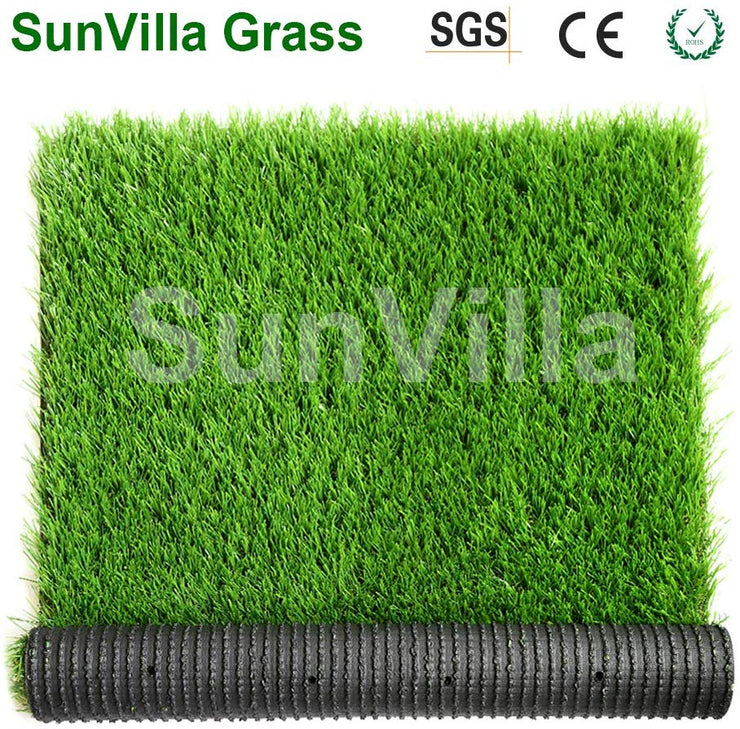 SunVilla 6FTX8FT Realistic Indoor/Outdoor Artificial Grass/Turf 6 x 8 (48 Square FT), Green/Olive Green/Yellow