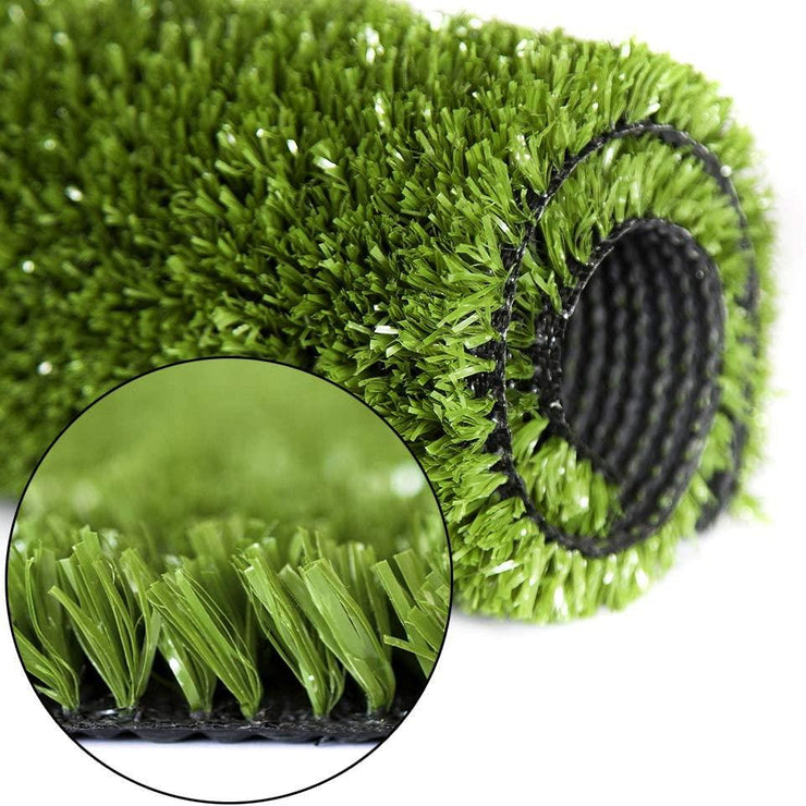 SunVilla Artificial Grass,Artificial Rug/Mat, Realistic Indoor/Outdoor Rubber Back Turf for Garden, Patio, Fence, Garden, Wall Decoration (5FTx5-82FT)