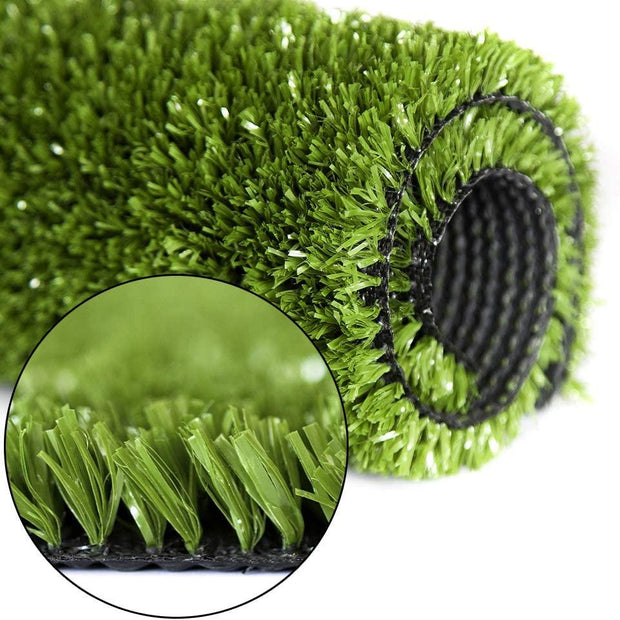 SunVilla Artificial Grass,Artificial Rug/Mat, Realistic Indoor/Outdoor Rubber Back Turf for Garden, Patio, Fence, Garden, Wall Decoration (1FTx1-82FT)