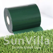SunVilla 6''x33 Double-Sided Artificial Grass Green Joining Fixing Turf Self Adhesive Lawn Carpet Seaming Tape-6 in x 33 FT (15 cm X 10 m)