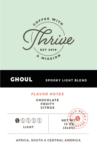 Ghoul Blend - Light Roast Coffee Thrive Coffee