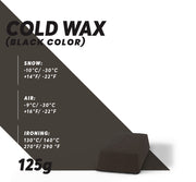Cold Ski Wax (Black) - Glide Nano
