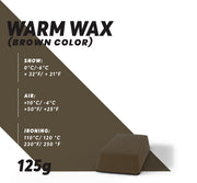 Warm Ski Wax (Brown) - Glide Nano