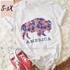 America Bison Tee