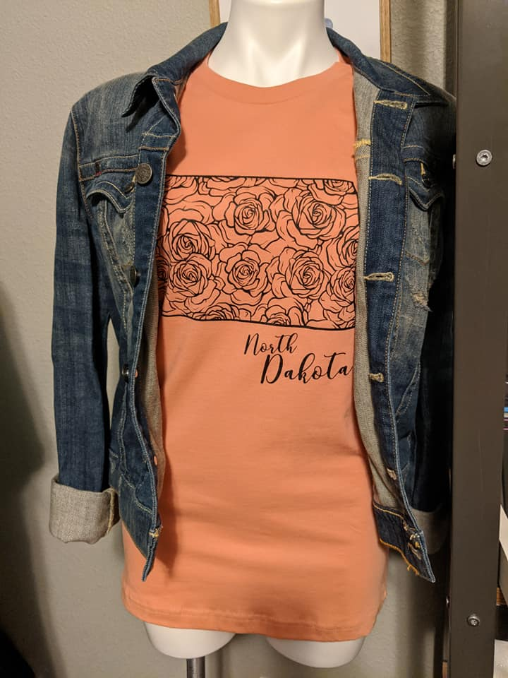 ND Rose Graphic Tee