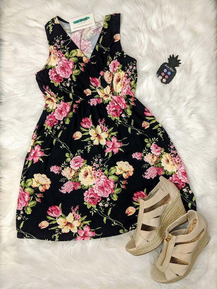 Springtime Bliss Floral Dress