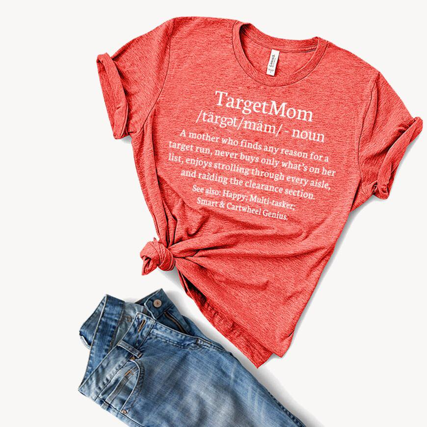Target Mom Graphic Tee