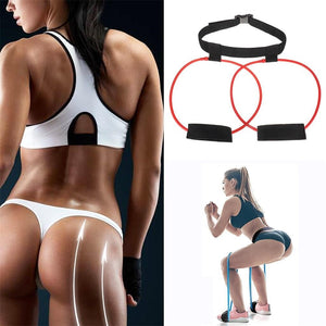 Women 30lb Hip Trainer Butt Booty Belt Band Body Glute Muscle Trainer Lifter Exercise Sport Gym Training fitness accessories #45