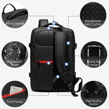 Load image into Gallery viewer, Travel Bag Waterproof USB charging Male Laptop Casual Travel  Backpack