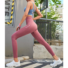 Load image into Gallery viewer, High Waisted Leggings for Women - Soft Athletic Tummy Control Pants for Running Cycling Yoga Workout - Reg & Plus Size