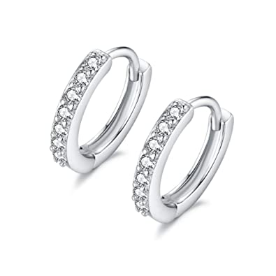 Mini Hoops Diamond - Iside Gioielli