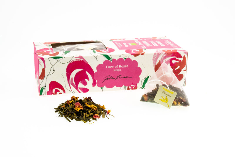 Love of Roses Organic Pyramid Tea