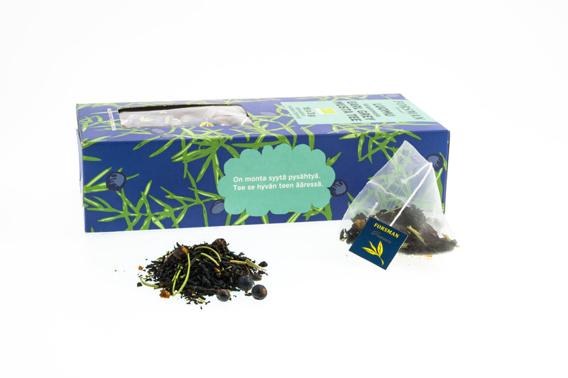 Organic Earl Grey-Juniper Pyramid Tea