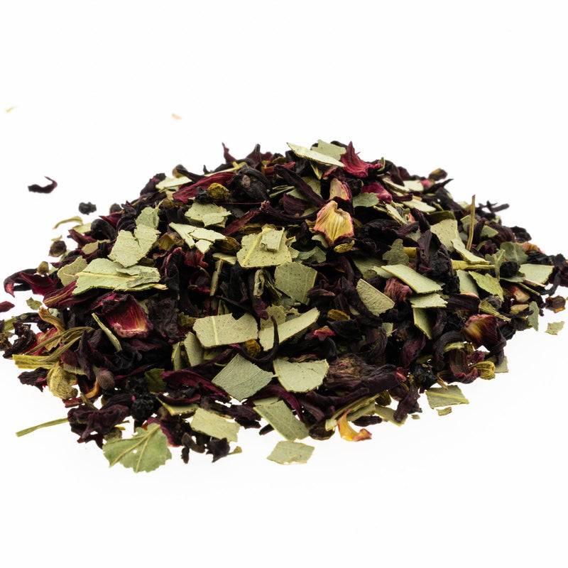 Refreshing Blackcurrant herbal tea