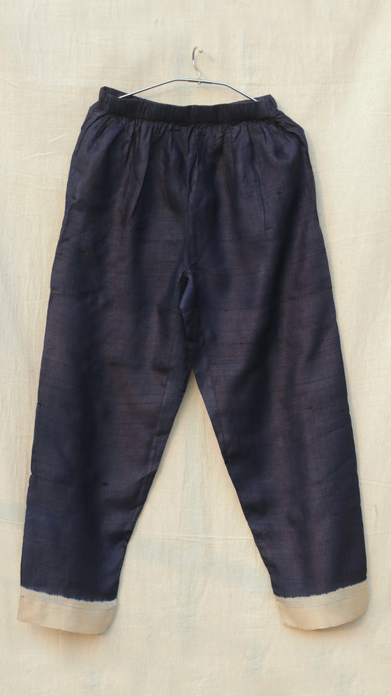 Naturally Dyed narrow Trousers