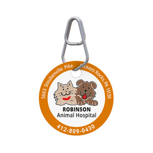 Robinson Animal Hospital Pet ID Tag
