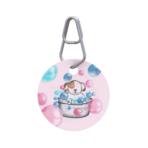 Bubble Bath Pet ID Tag