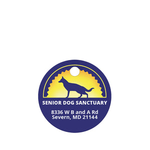Senior Dog Sanctuary Pet ID Tag
