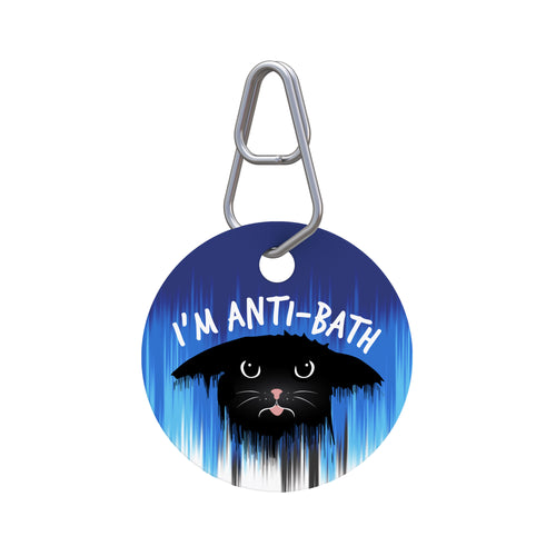 I'm Anti-Bath Pet ID Tag